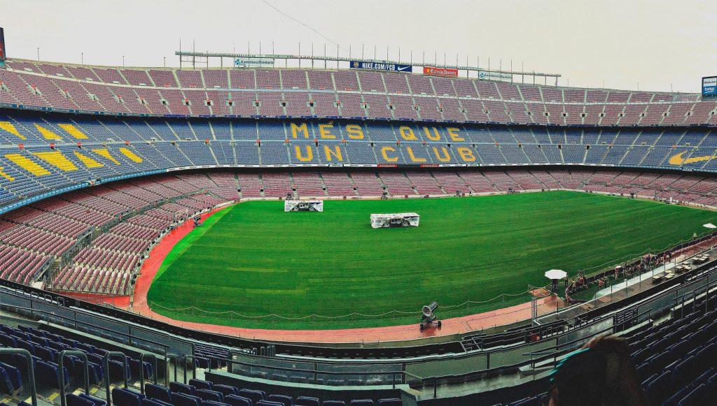 Fodboldrejse til Camp Nou i Spanien