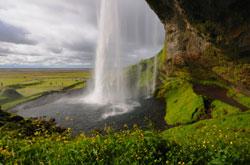 Seljalandsfoss vandfald, Island