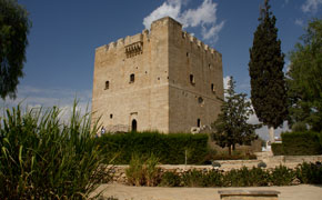 Kolossi slottet ved Limassol på Cypern