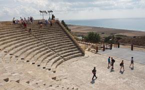 Amfiteatret ved Kourion nær Limassol, Cypern