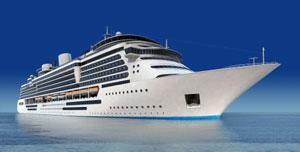 Krydstogtskib - Tag på krydstogt i middelhavet