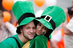 Sankt Patricks Dag i Dublin