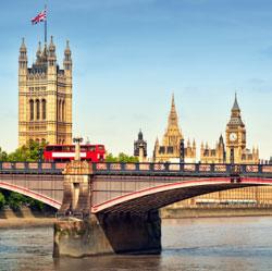 Rejs på storbyferie til London