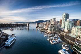 Rejs til smukke Vancouver i Canada