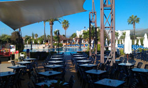 Viva Alcúdia Sun Village scene til underholdning